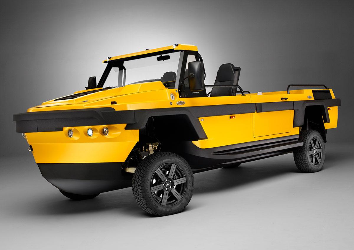 Gibbs Technology High Speed Amphibian Vehicle