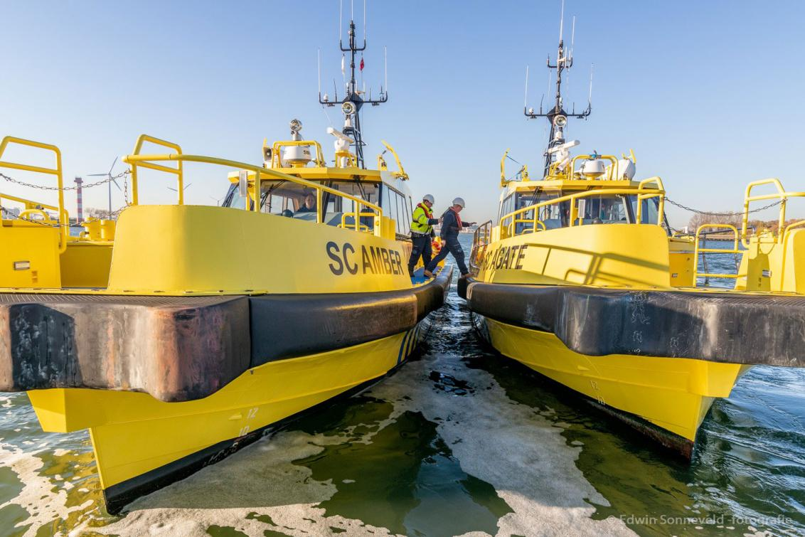 Fender system for Sima Charters - SC Amber windfarm support vessel.
