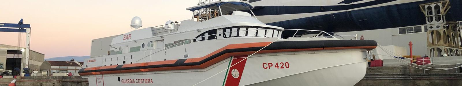 Guardia Costiera Genova CP420 SAR