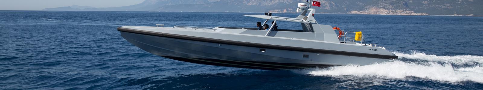 Fenders for Damen Antalya - HSC 1503