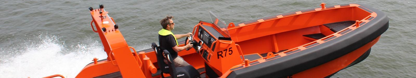Fenders for fast, light weight workboats