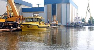 Fender system for Royal Niestern Sander - Inspection vessel PW18