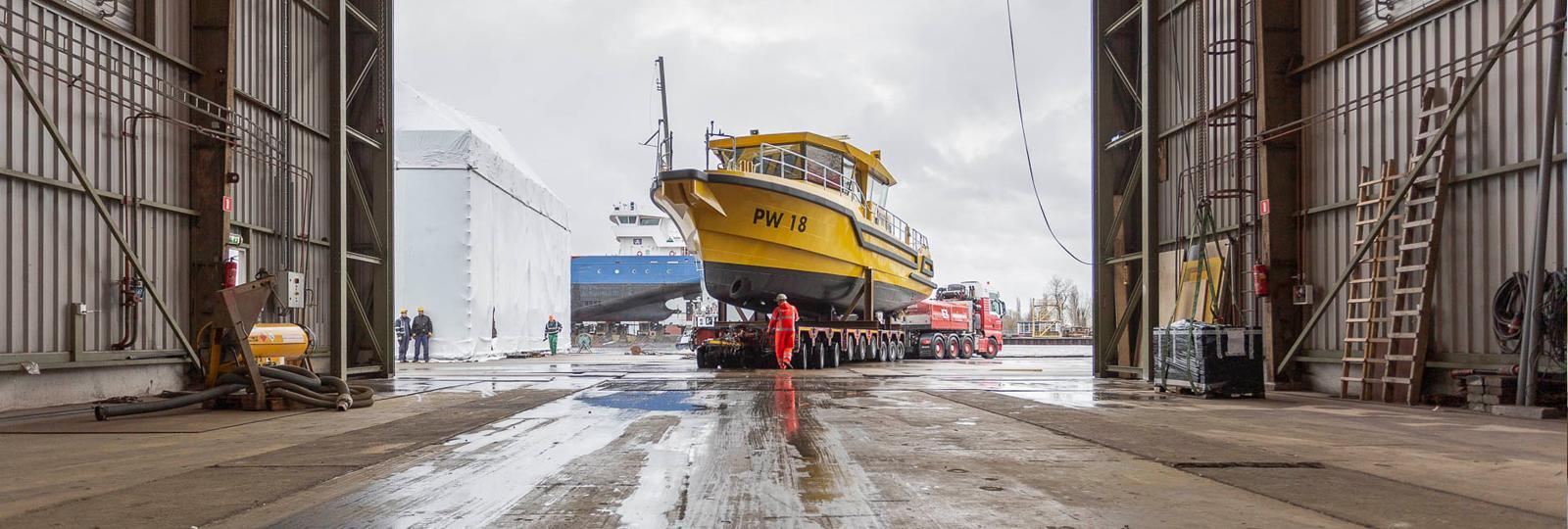 Niestern Sander - Inspectievaartuig Groningen- PW18
